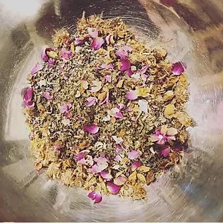 postpartum herbs